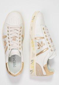 Premiata - ANDY - Trainers - white/gold - 3