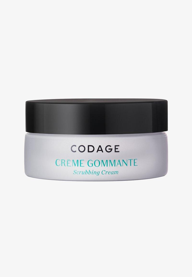 Codage - SCRUBBING CREAM 50ML - Face scrub - neutral