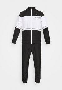 Lacoste Sport - TRACK SUIT - Träningsset - black/white - 6