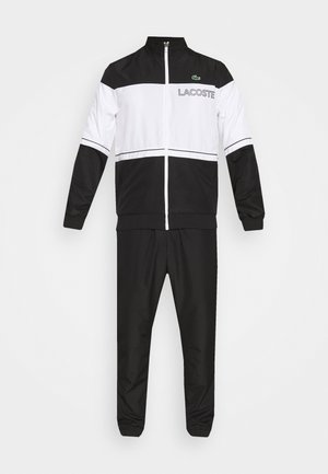 TRACK SUIT - Tuta - black/white