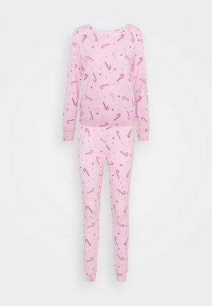 CANDY CANE PRINT TWOSIE - Pyjamas - pink mix
