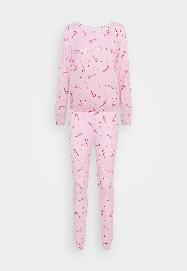 CANDY CANE PRINT TWOSIE - Pyžamo - pink mix