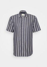 ROAD SHIRT - Shirt - navy/white