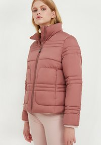 Finn Flare - Winter jacket - dark pink - 3