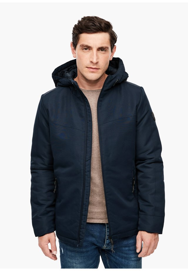 MIT WARMER WATTIERUNG - Winter jacket - dark blue