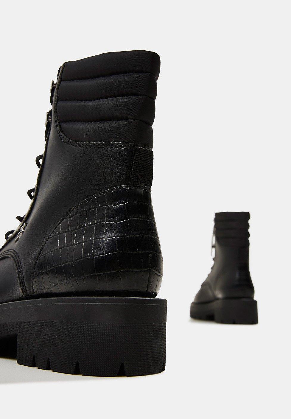 Esprit Schnürstiefelette black/schwarz