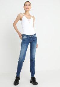 Le Temps Des Cerises - PULP - Slim fit jeans - blue - 1