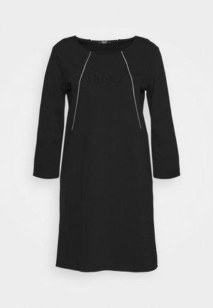 ABITO - Žerzejové šaty - nero