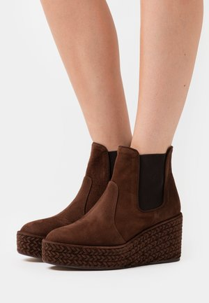 NINES - Ankle boots - marron
