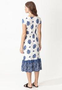 Indiska - RUNITA - Jersey dress - blue - 2