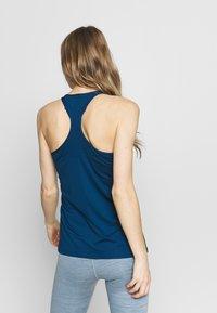 Nike Performance - TANK ALL OVER  - Camiseta de deporte - valerian blue - 2