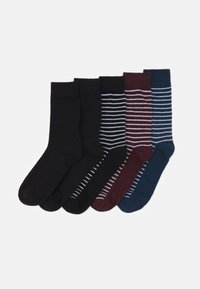 Jack & Jones - JACTHIN SOCKS 5 PACK - Socks - black - 0