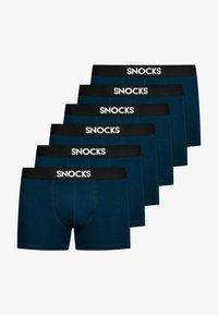 SNOCKS - BOXERSHORTS - 6 PACK - Pants - blau - 3