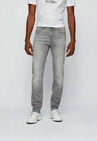 BOSS - Slim fit jeans - light grey - 0