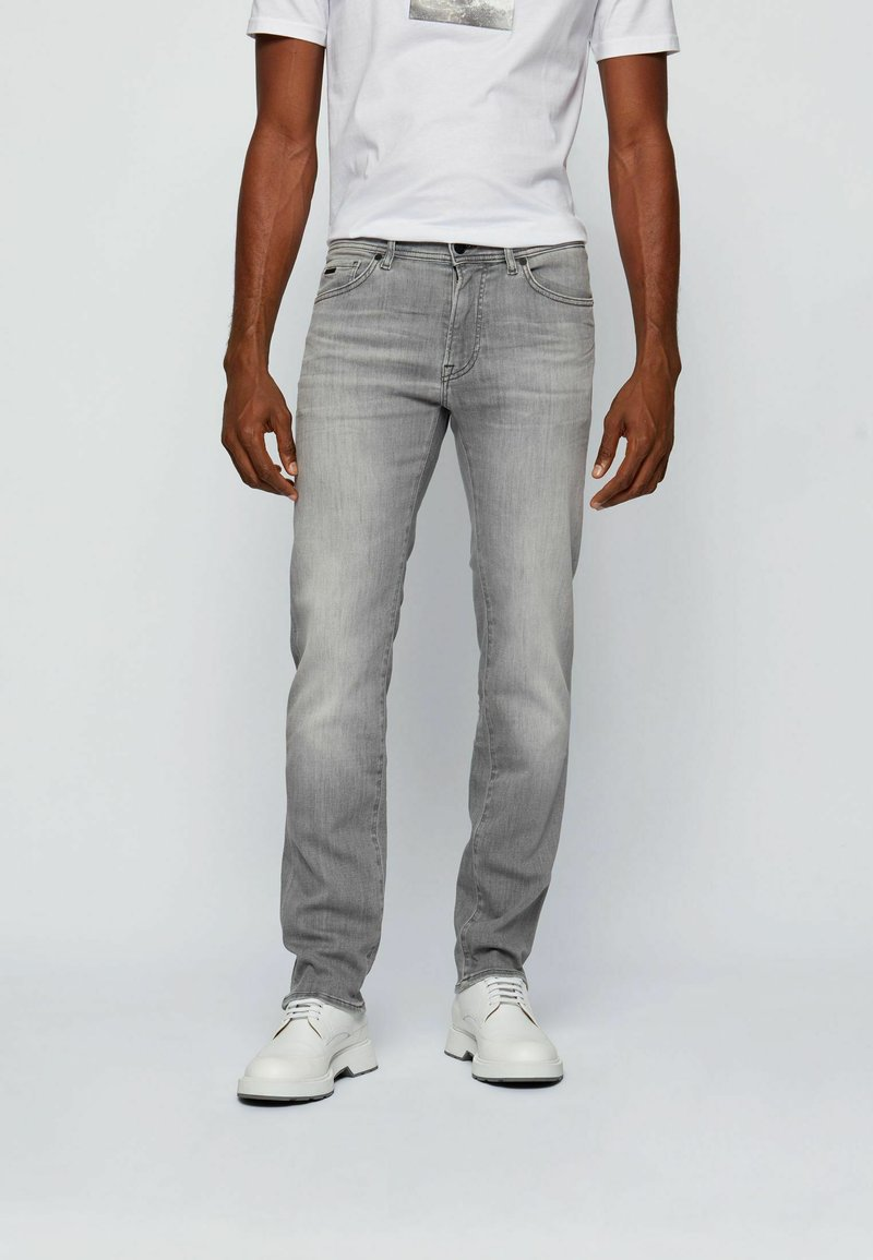 BOSS - Slim fit jeans - light grey