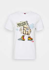 The North Face - GRAPHIC TEE - T-shirt con stampa - white - 0