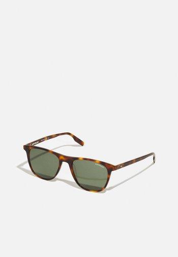 UNISEX - Sunglasses - havana/green