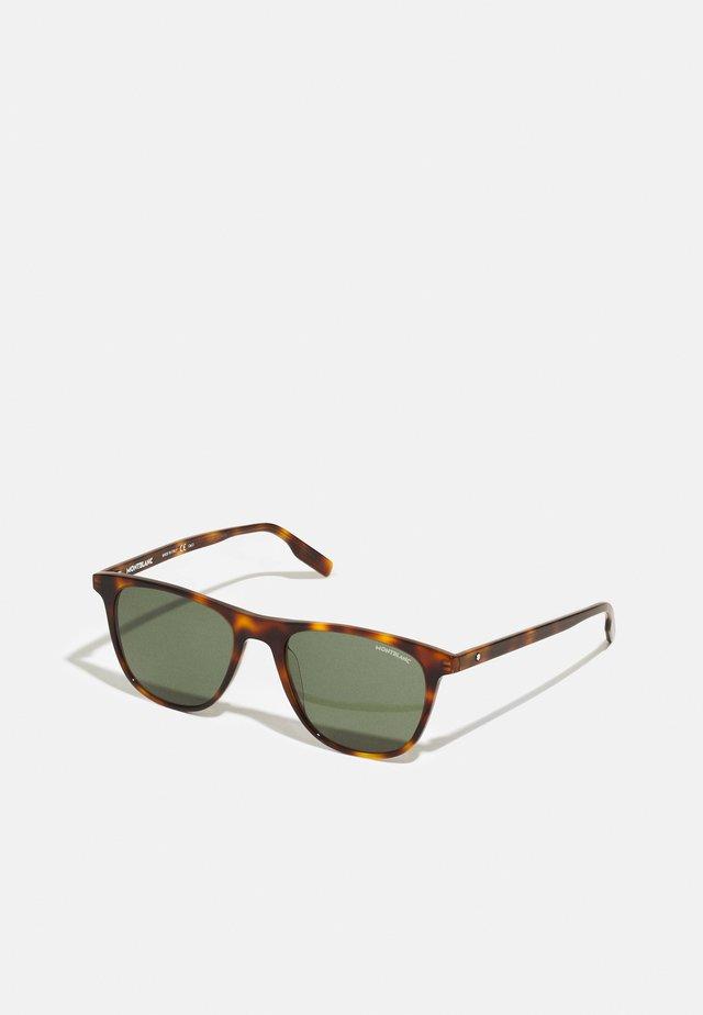 UNISEX - Occhiali da sole - havana/green