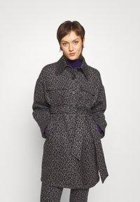 Diane von Furstenberg - MANON COAT - Short coat - grey - 0