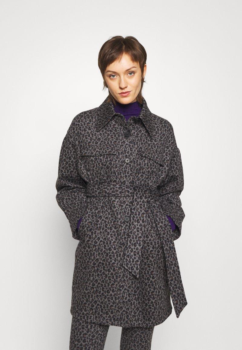 Diane von Furstenberg - MANON COAT - Short coat - grey