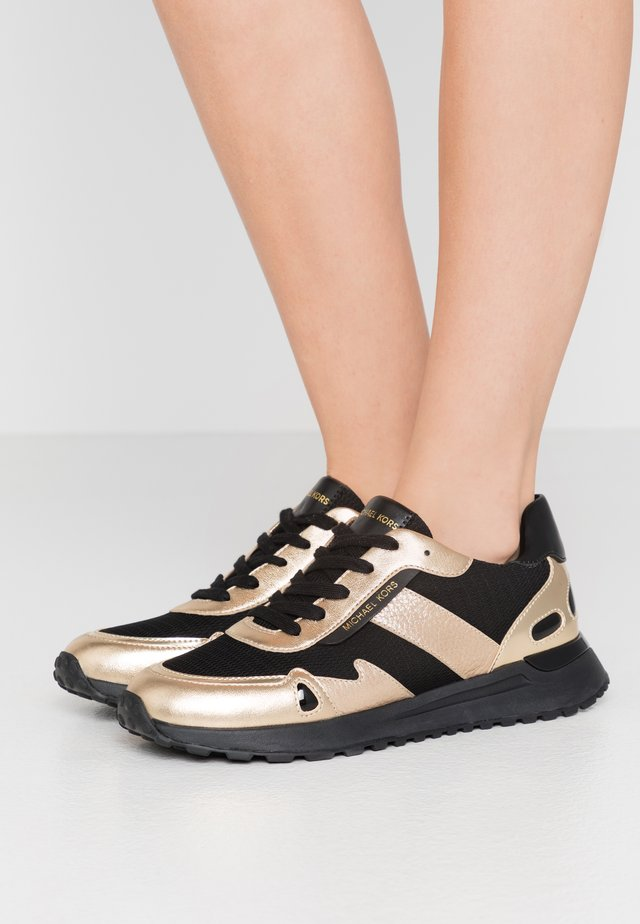 MONROE TRAINER - Sneakers laag - black/pale gold