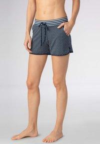 mey - SHORTS SERIE NIGHT2DAY - Pyjama bottoms - night blue - 0