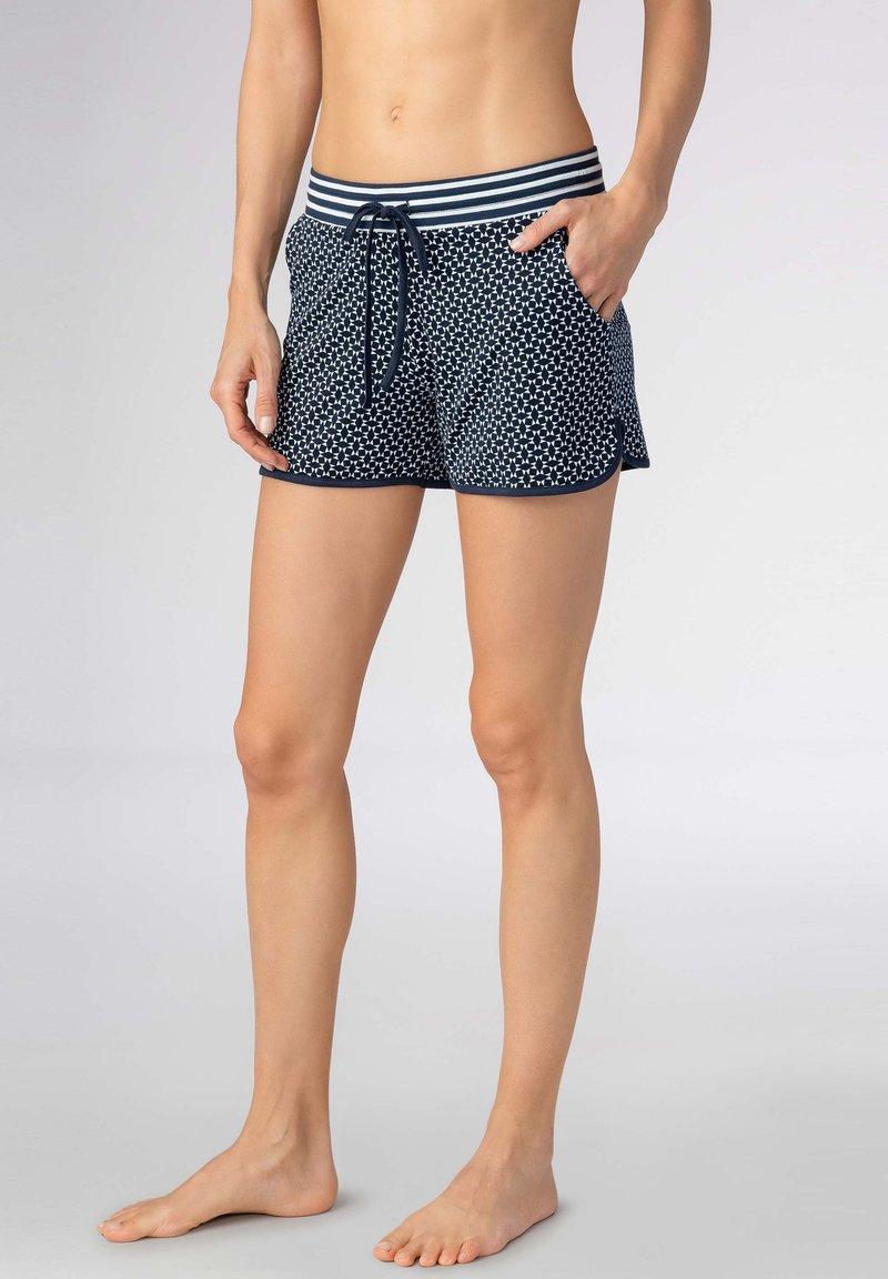 mey - SHORTS SERIE NIGHT2DAY - Pyjama bottoms - night blue