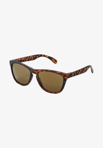 BODHI - Sunglasses - turtle brown / brown mirror