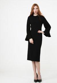 Madam-T - KAZIMIRA - Shift dress - schwarz - 1