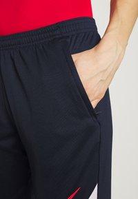 Nike Performance - DRY ACADEMY 20 PANT - Joggebukse - obsidian/white/laser crimson - 3