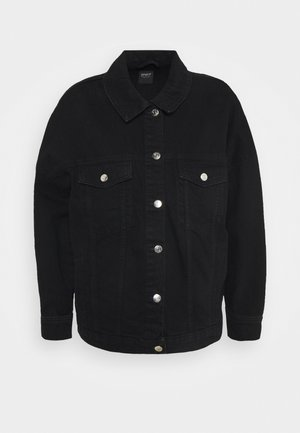 ONLSAFE LIFE  - Denim jacket - black denim