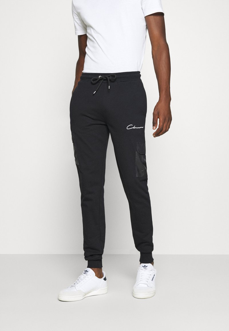 CLOSURE London - CONTRAST UTILITY JOGGER - Jogginghose - black