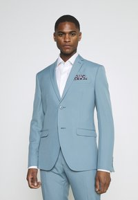 Isaac Dewhirst - PLAIN SUIT SET - Completo - turquoise - 2