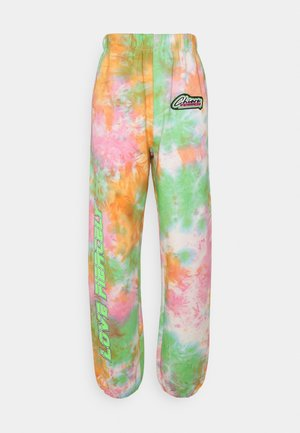 154 TIE DYE RACING TROUSERS - Tracksuit bottoms - multicolor