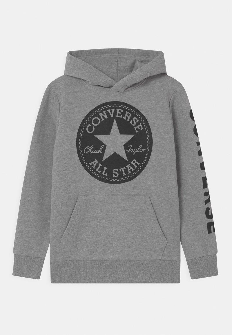 Converse - SIGNATURE CHUCK PATCH HOODIE - Sweat à capuche - dark grey heather
