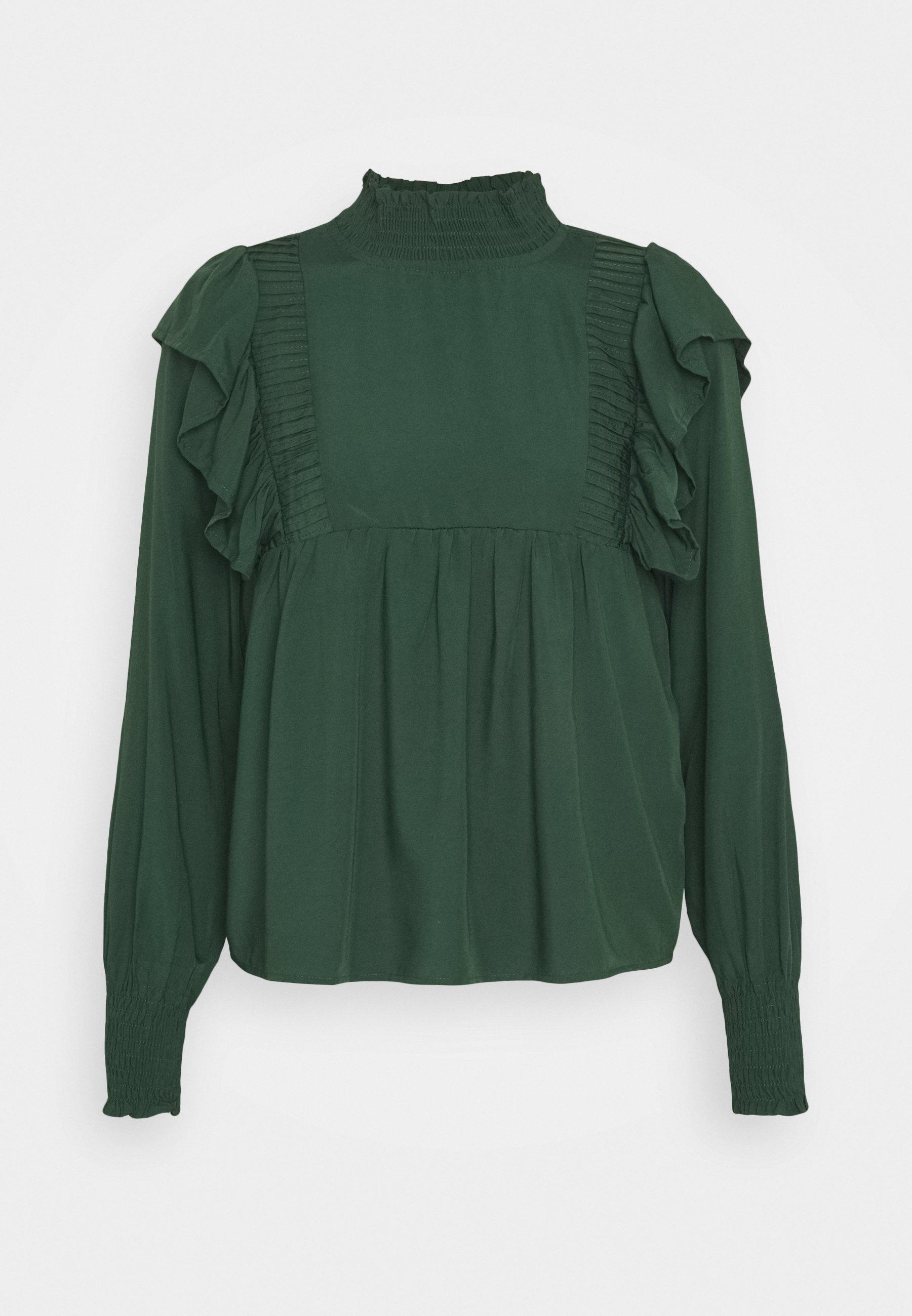 Grüne Blusen für Damen online entdecken   Zalando