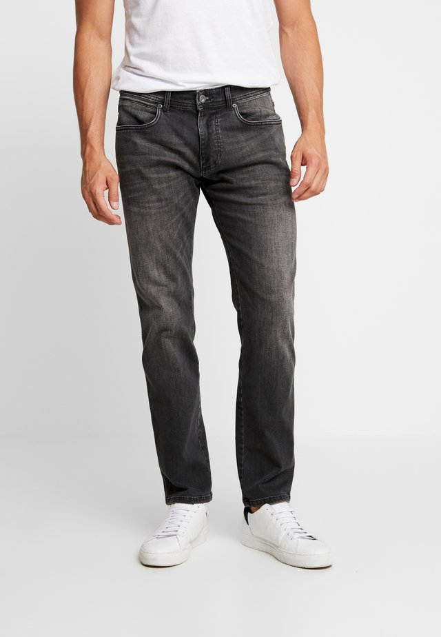MADISON - Džíny Slim Fit - dark grey denim