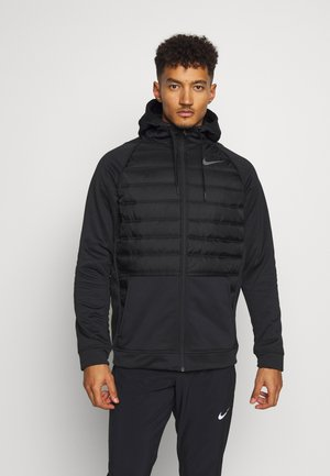 Training jacket - black/dark grey
