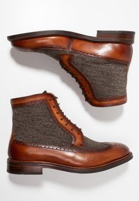 Cordwainer - Lace-up ankle boots - turin bronze/larvik - 1