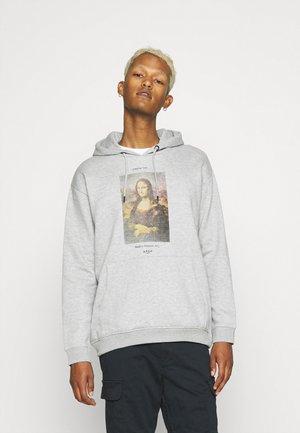 MONA LISA HOOD - Sweatshirt - grey marl