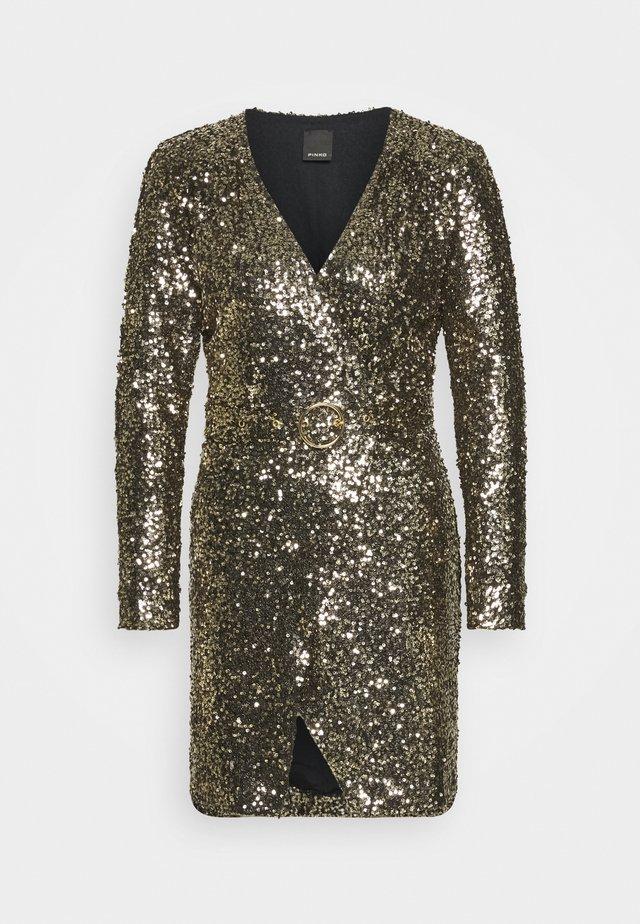 OTTAVIANO DRESS - Cocktailkleid/festliches Kleid - oro nero