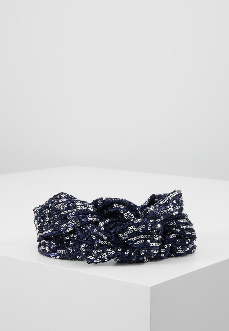 Becksöndergaard - SEQUINS HAIRBAND - Hair Styling Accessory - blue