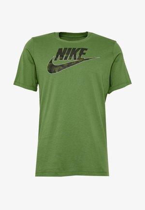 CAMO - Print T-shirt - olive/dark green