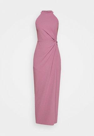 ZARITA SIDE KNOT MAXI DRESS - Jersey dress - mauve pink