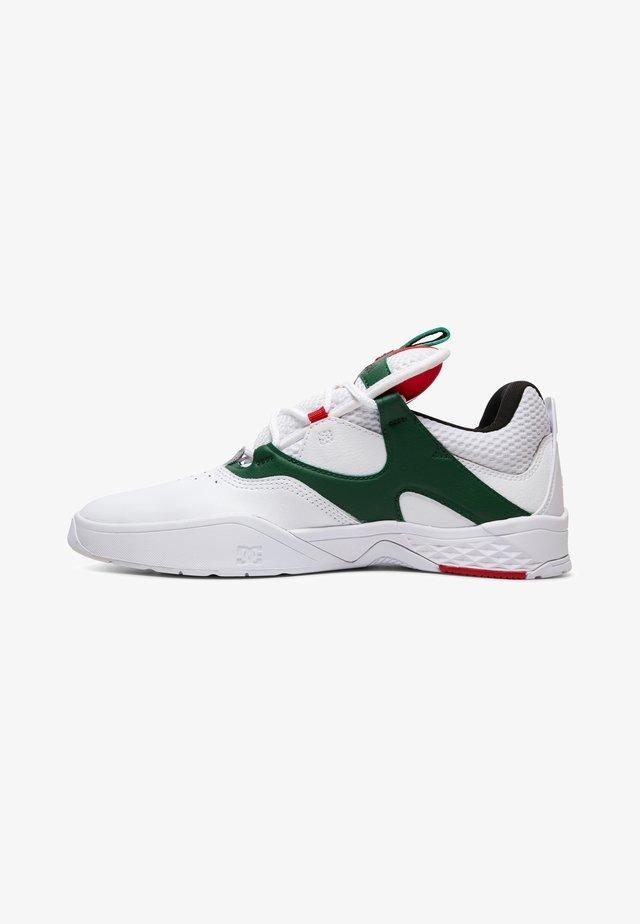 KALIS  - Chaussures de skate - white/green