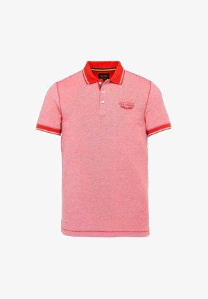 Polo shirt - valiant poppy
