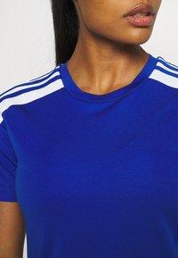 adidas Performance - SQUADRA 21 - T-shirts med print - royal blue/white - 4