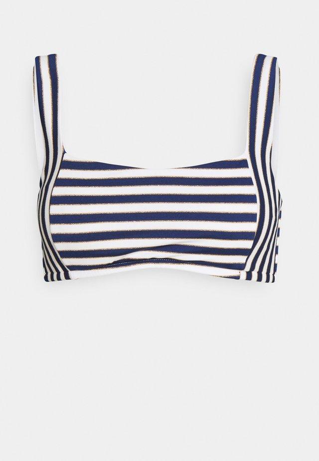 STRIPES - Haut de bikini - blue