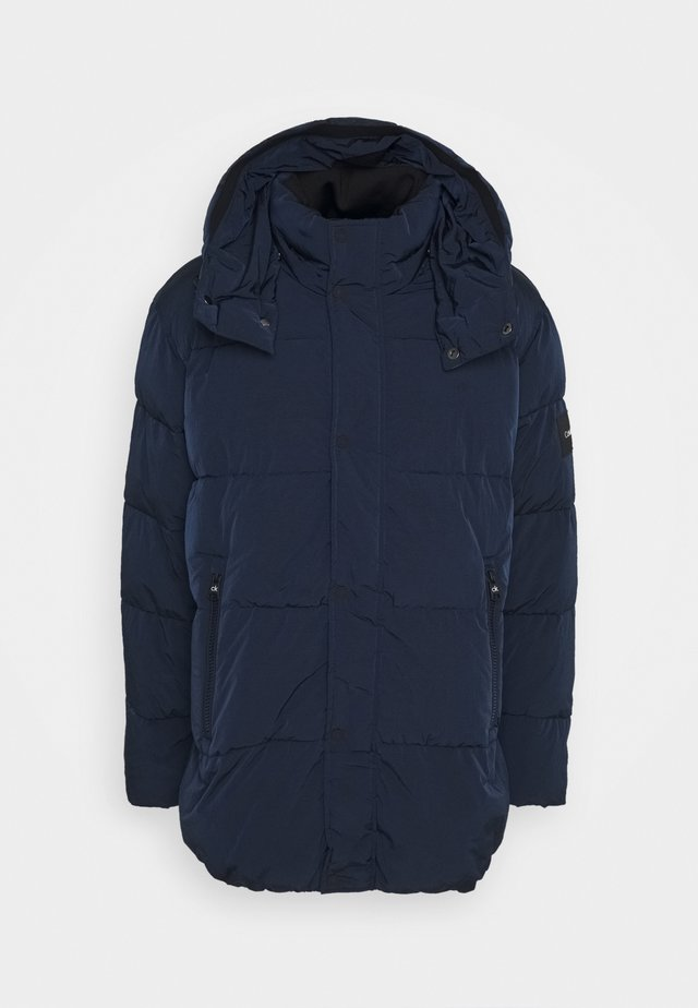 CRINKLE - Winter coat - blue