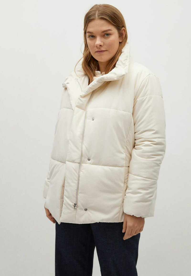 Violeta by Mango - NELA - Winter jacket - ecru